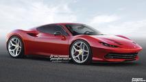 Ferrari Dino Rendering