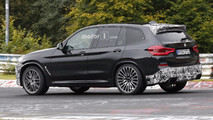 2019 BMW X3 M spy photo