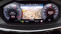 2018 Audi A8 ivmelenme testi