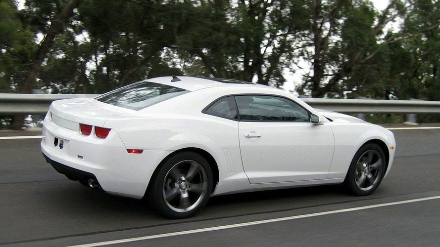 Camaro Approved for Right Hand Drive