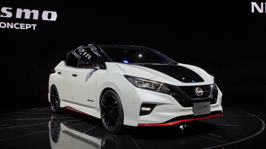 Nissan LEAF NISMO Concept, deportividad y eficiencia