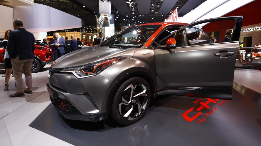 Toyota C-HR Hy-Power konsepti daha güçlü