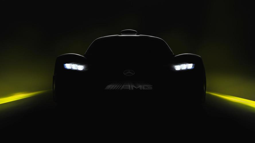 Mercedes-AMG Project One: nuevo teaser antes de Frankfurt