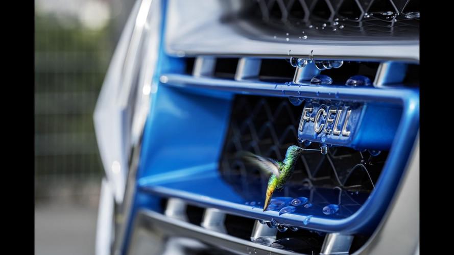 Mercedes GLC F-Cell 2018, imágenes oficiales