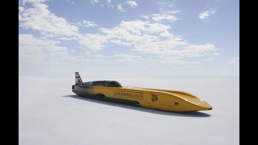 a 560 km/h con il JCB Dieselmax!
