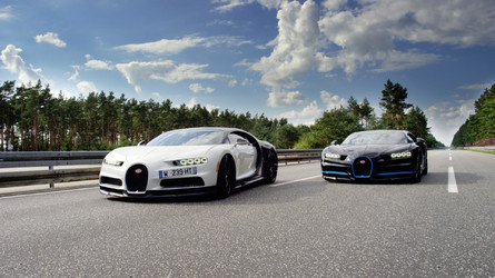 The Best Way To Film A Bugatti Chiron Do 249mph? Another Chiron