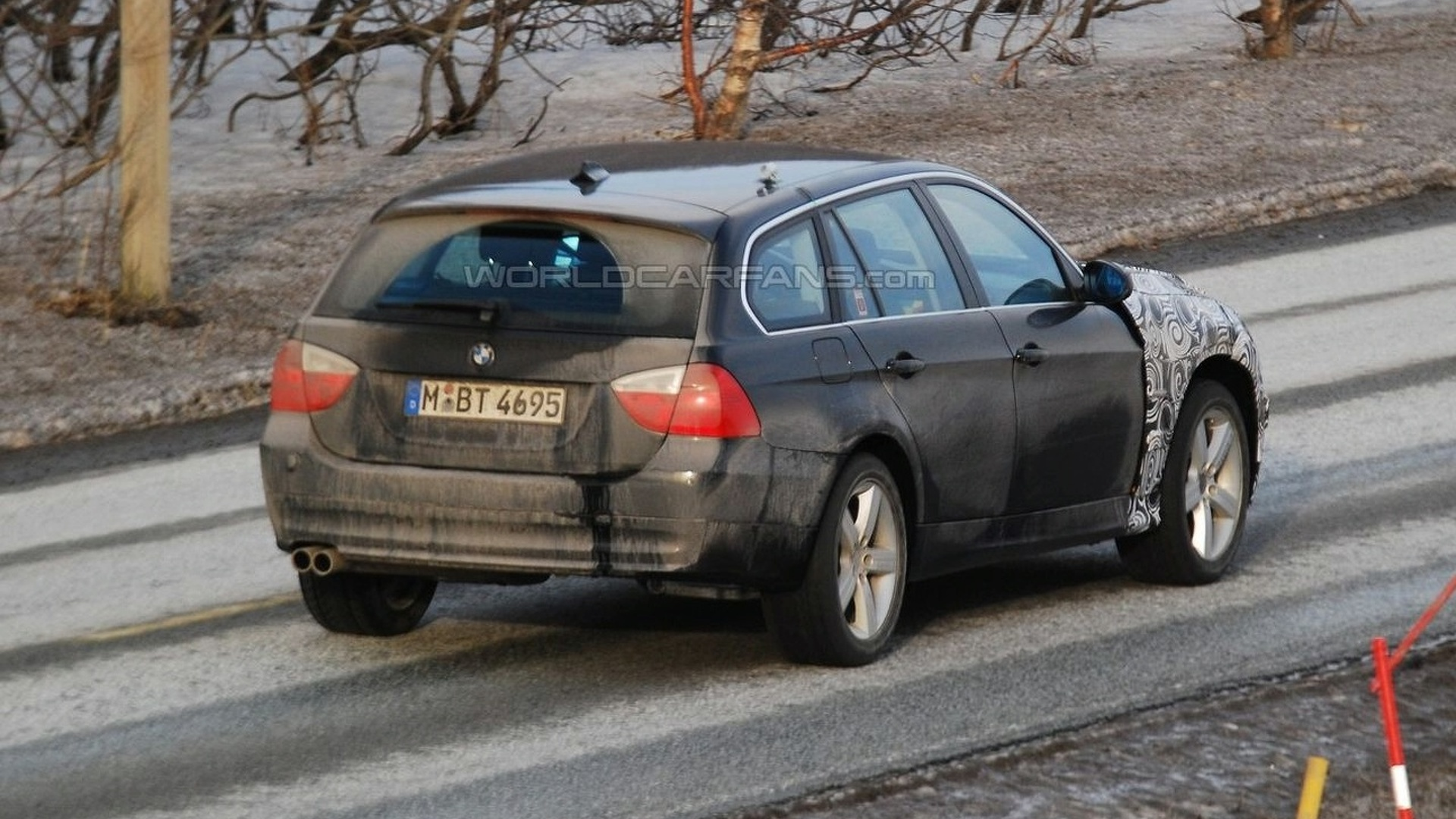 BMW Series Hybrid Touring With X Front End Spied In Norway - Bmw 3 series touring