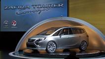 Opel Zafira Tourer Concept live in Geneva - 01.03.2011