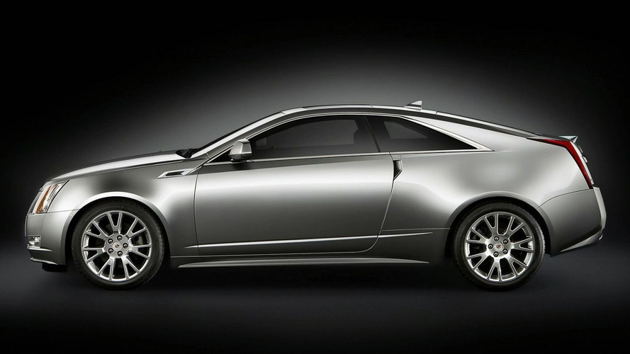 2011 Cadillac CTS Coupe Revealed in Full Production Form