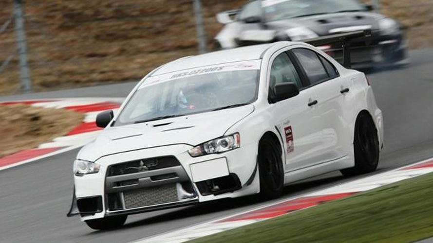 HKS Announces CZ200S Mitsubishi EVO X Time Attack Project