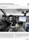 """""""Automated Driving"""" at Mercedes-Benz - Robots control accelerator, brake and steering in test vehicle"""