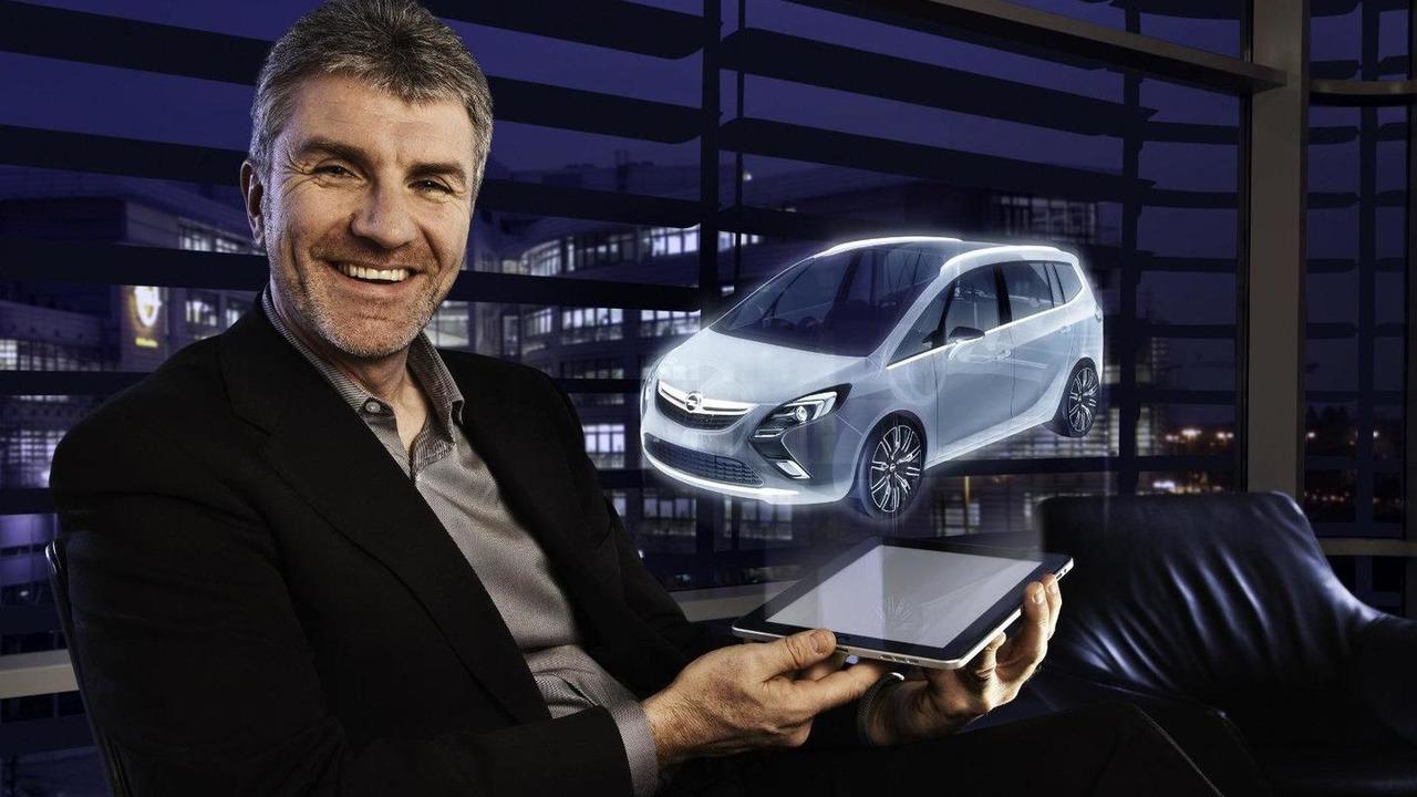 Opel Zafira Tourer Concept, Mark Adams, Vice President Opel/Vauxhall Design, 09.02.2011
