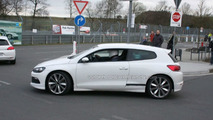 VW Scirocco R20 spy photo