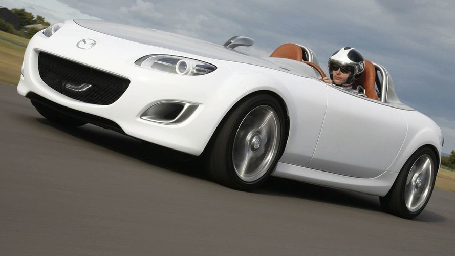 Mazda MX-5 Superlight Concept - First Real-Life Pictures