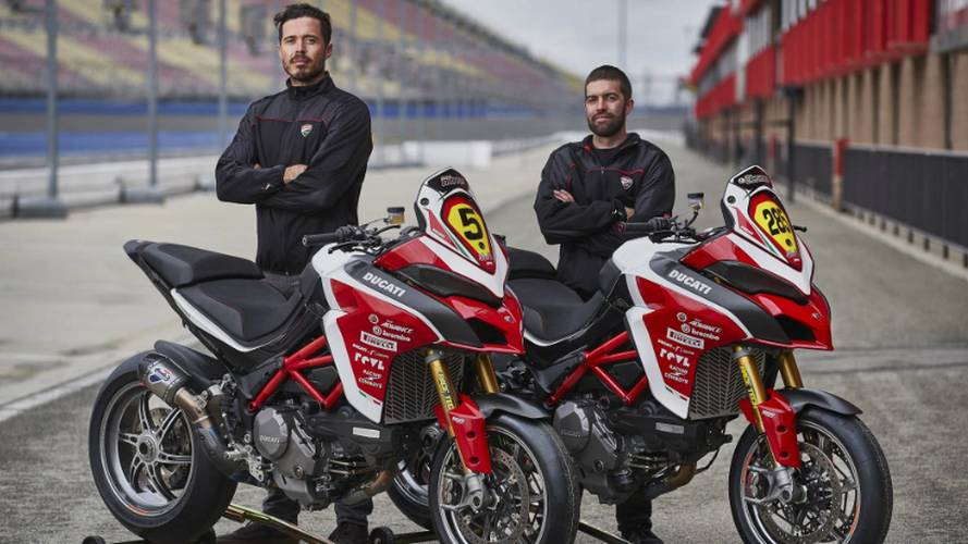 Ducati Returns To Pikes Peak With New Multistrada 1260