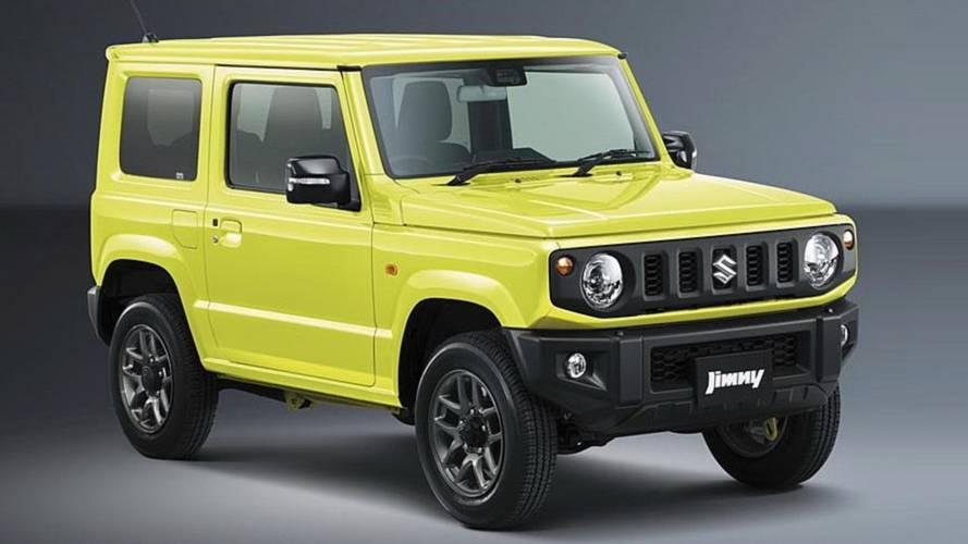 Suzuki Jimny 2019 le foto ufficiali