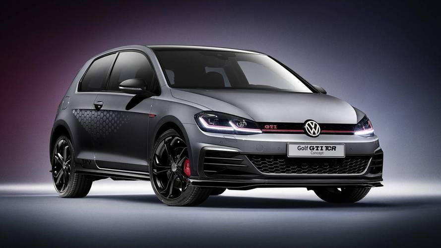 2018 VW Golf GTI TCR concept