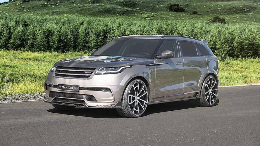 Mansory se atreve con el Range Rover Velar 2018