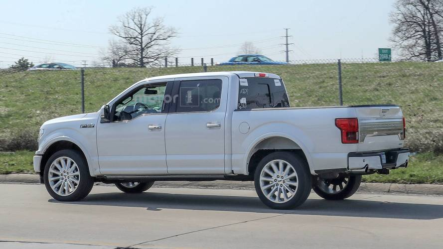 2019 Ford F 150 Limited Spied With New Rear Bumper Dual