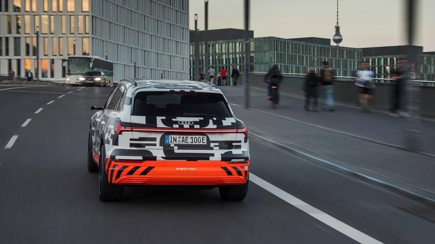 2019 Audi E-Tron cage de Faraday