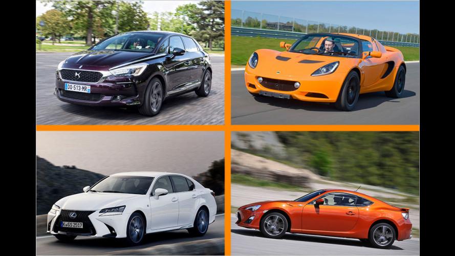 Die zehn besten Autos, die keiner kauft