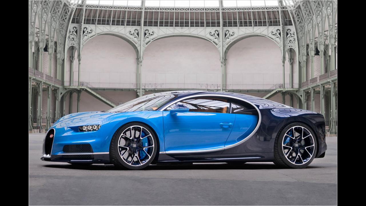 Meiste Zylinder: Bugatti Chiron, 16