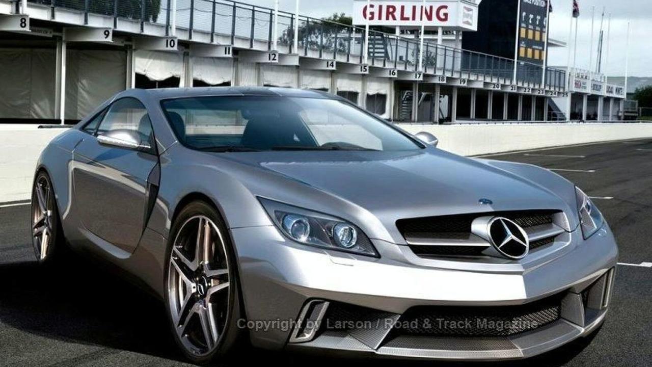 Mercedes SLC artist rendering