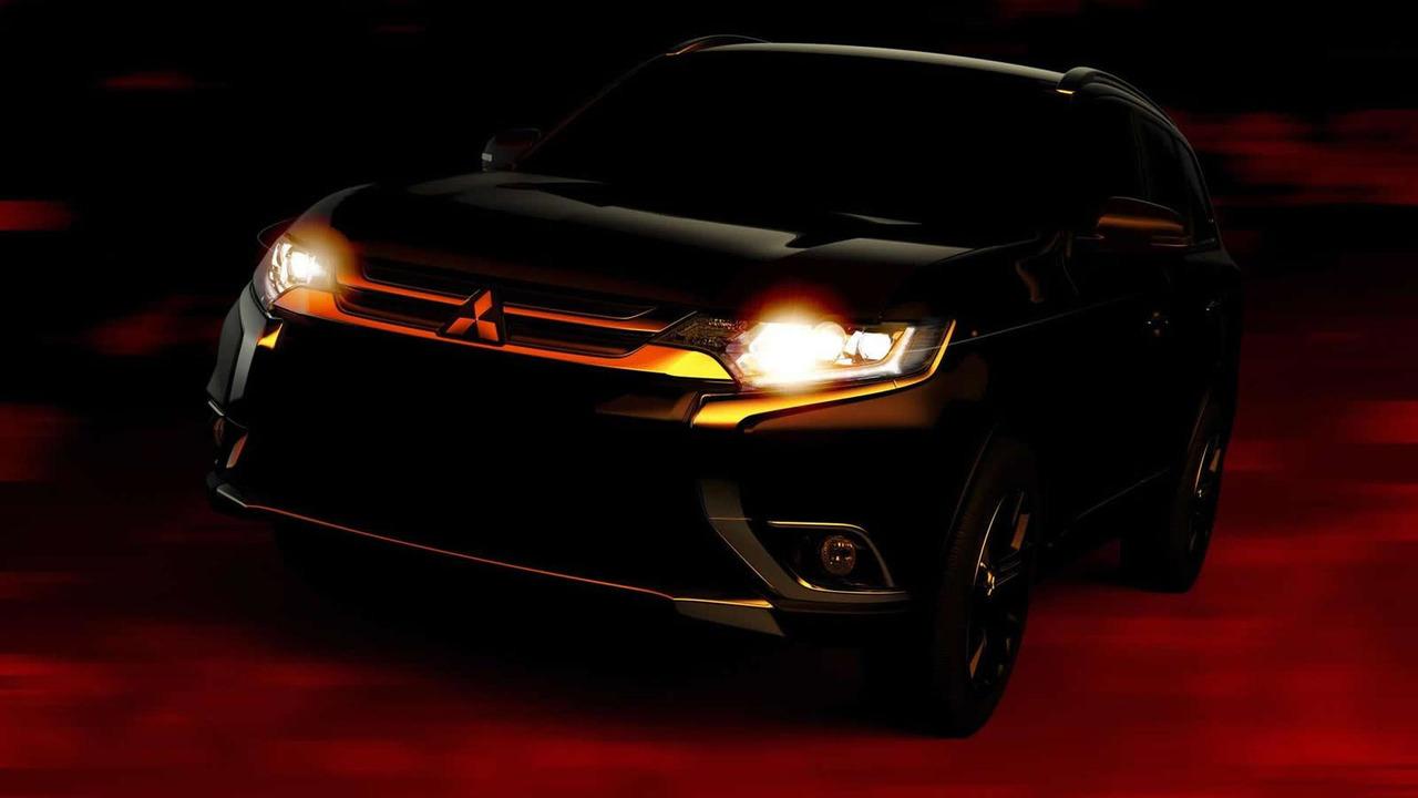 2016 Mitsubishi Outlander facelift teaser