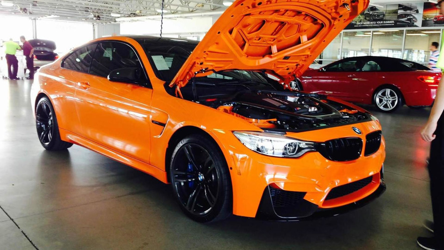BMW dealer in Dallas selling M4 Limerock
