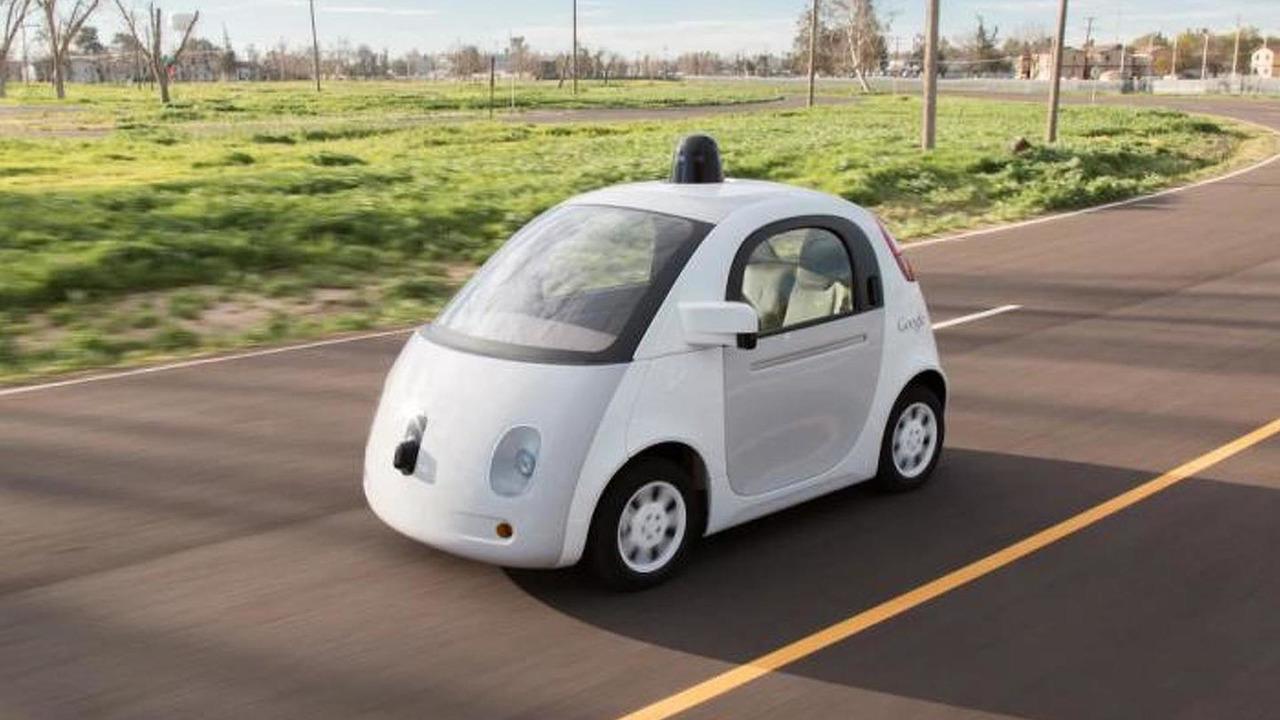 Google self-driving vehicle prototype