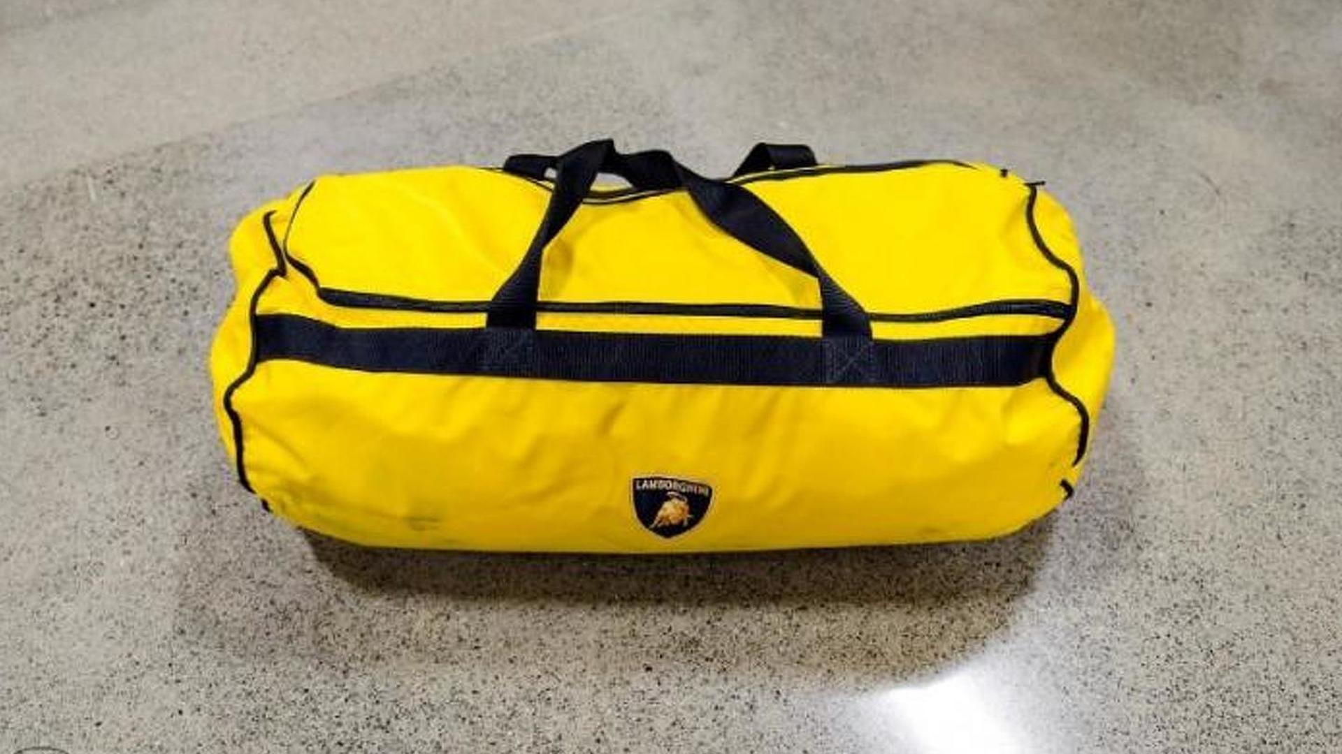 Жёлтая сумка Lamborghini Diablo 6.0 SE