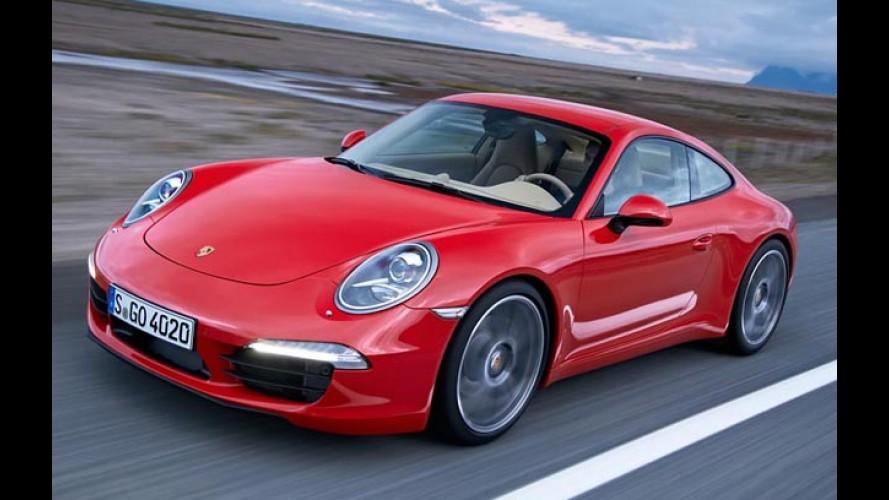 07f38d4945e42 Porsche 911 Turbo S Cabriolet Está à Venda No Brasil Por R