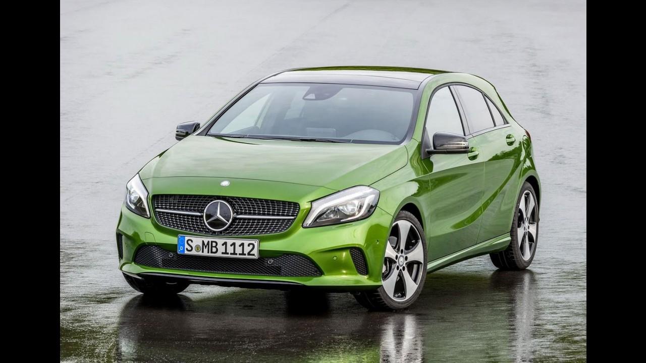 Flagra: Mercedes CLA 2016 atualizado está quase pronto para a estreia