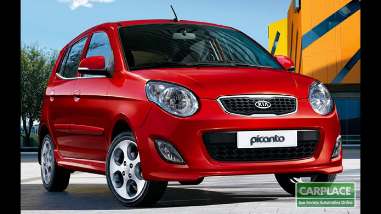 Kia Picanto 2011 - Compacto com novidades visuais já está à venda no Brasil
