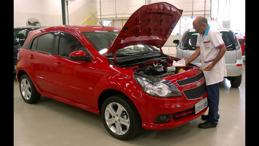 Chevrolet oferece check-up grátis de 30 itens até o fim do mês
