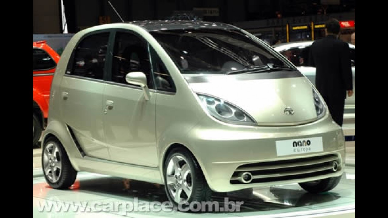 Tata Nano: Carro mais barato do mundo começa a ser vendido por US$ 1.979