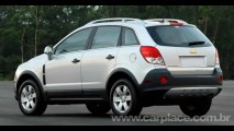 Chevrolet irá ampliar importação do utilitário Captiva para acabar com a fila de espera