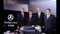 Mercedes inaugura na China primeira fábrica de motores fora da Alemanha