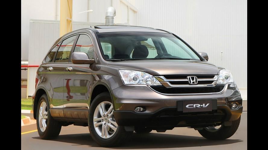 Recall mundial da Honda atinge 600 unidades do CR-V no Brasil