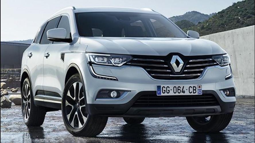 Nuovo Renault Koleos, il Kadjar è cresciuto