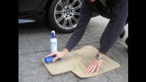 1. Pulire i tappetini separatamente