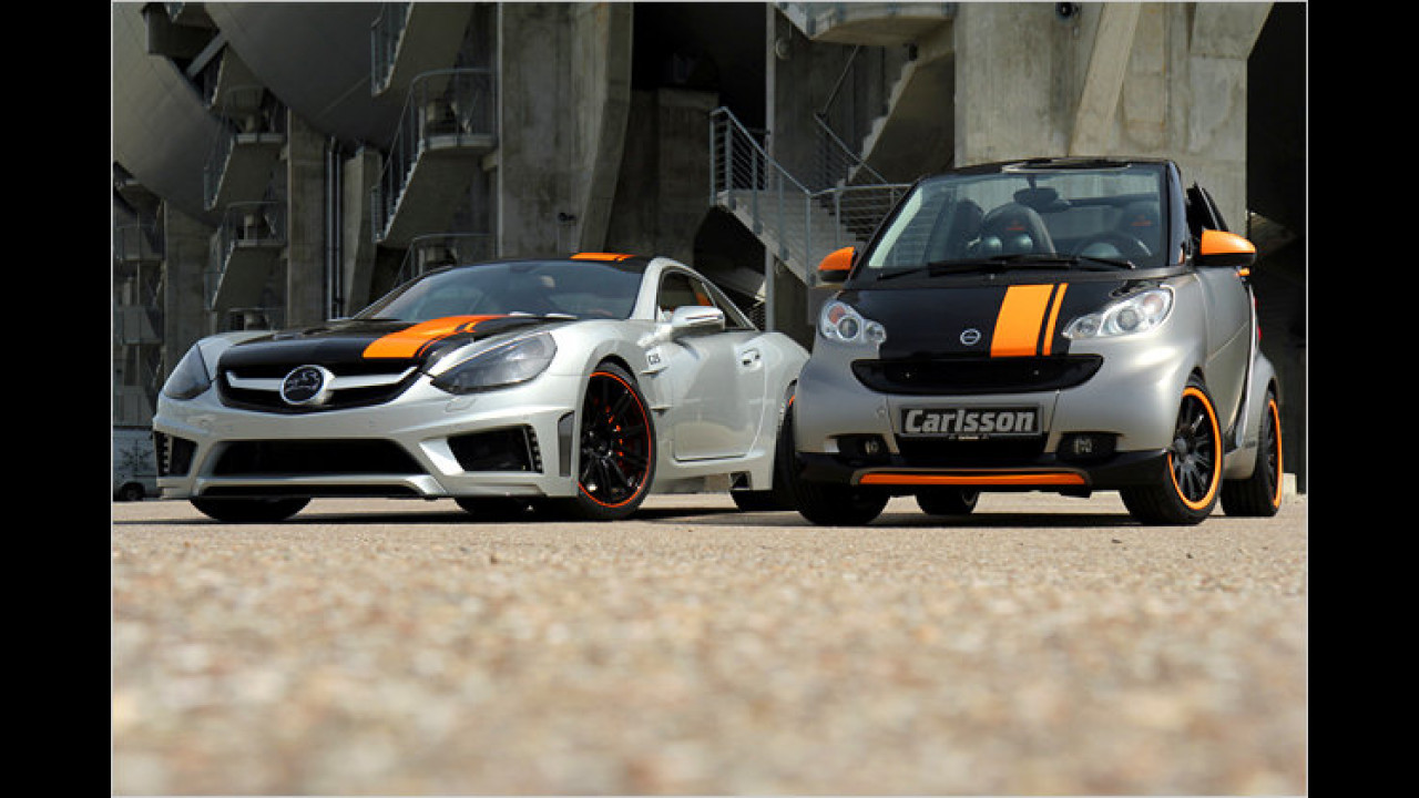 Carlsson C25 und Smart C25 Edition