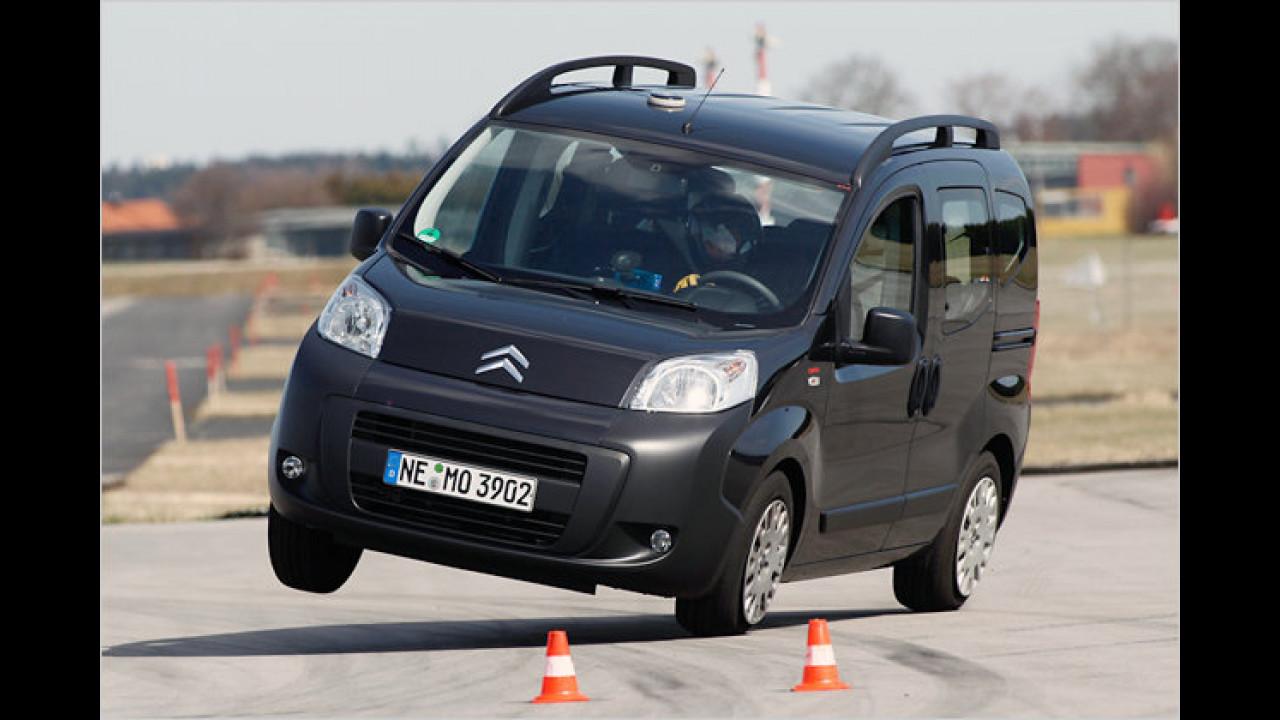 Citroën Nemo kippt um