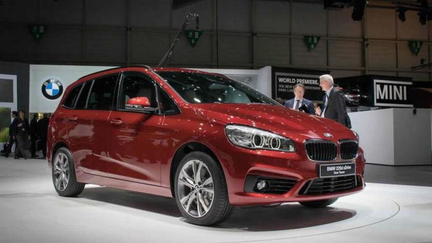 BMW says 2-Series Active Tourer and Gran Tourer are too small for US market