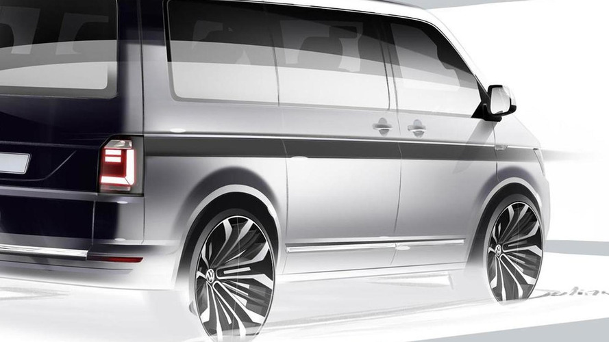 Volkswagen T6 teased prior to April 15 reveal