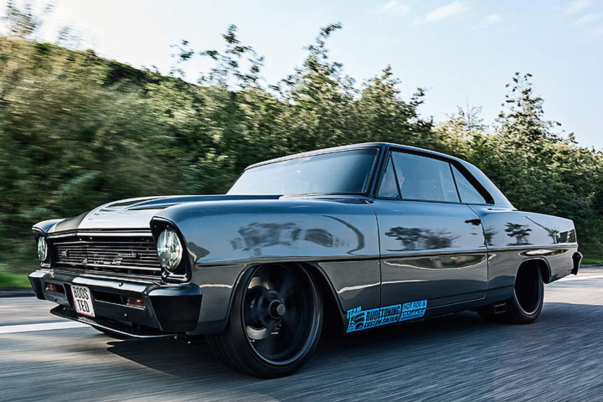 This 600-HP Chevy Nova Isn't American, It's Danish
