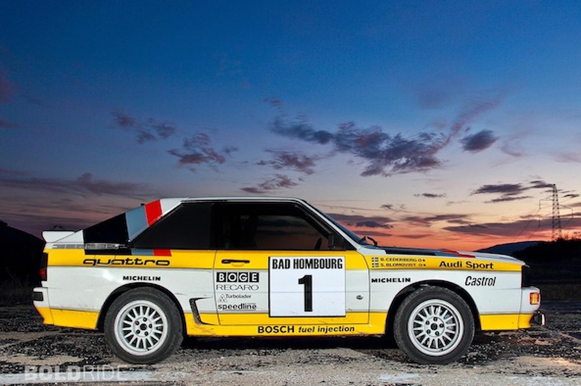 Wheels Wallpaper: 1985 Audi Quattro Group B Rally Car