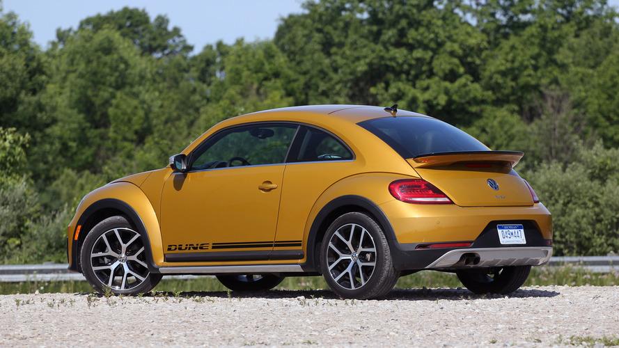 Volkswagen Beetle Dune 2016