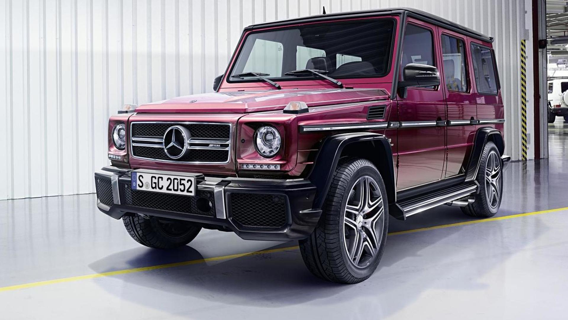 Mercedes Benz G Class News And Reviews