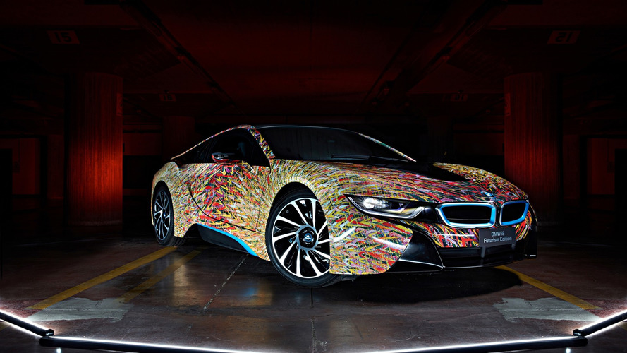 Garage Italia Customs propose une i8 Art Car